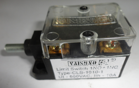 Electric Limit Switch Rotary Switches Manufacturers India